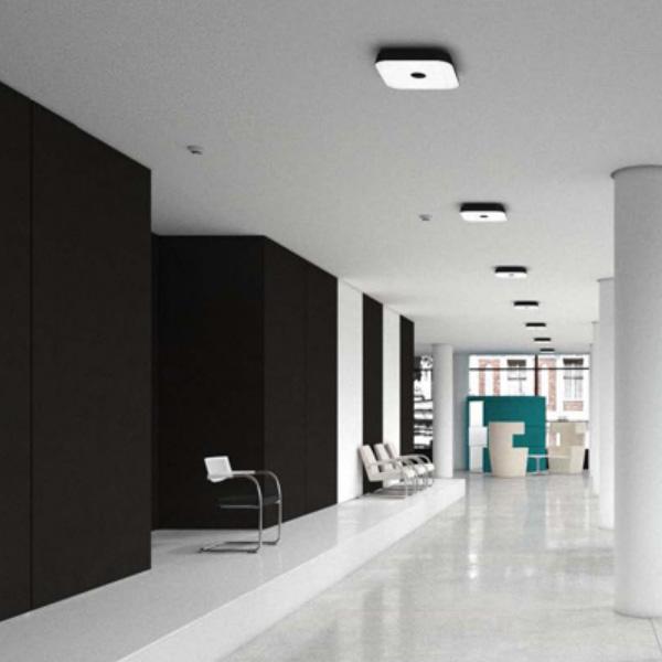 belux koi-q Multisens LED Deckenleuchte mit Bewegungsmelder