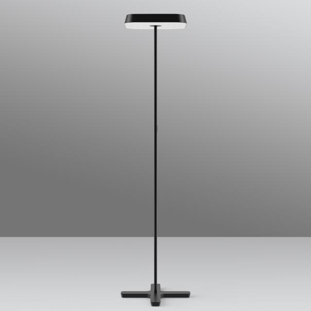 belux koi-q Multisens LED Stehleuchte mit Dimmer und Bewegungsmelder