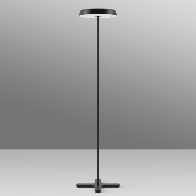belux koi-s Multisens LED Stehleuchte mit Dimmer und Bewegungsmelder