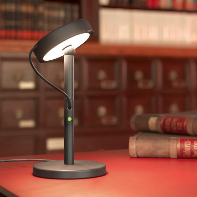 belux u-turn LED Tischleuchte mit Dimmer