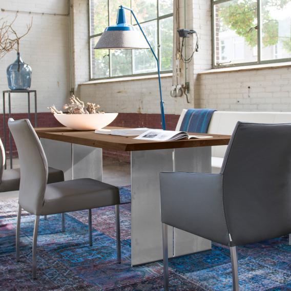 bert plantagie edno tisch edno 160x100 nuss astig l reuter. Black Bedroom Furniture Sets. Home Design Ideas