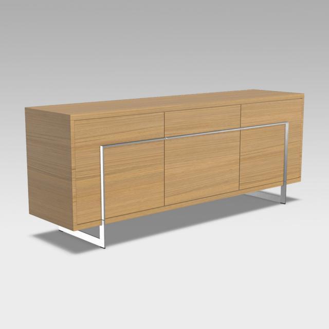 bert plantagie Vision Sideboard mit 3 Türen und Schublade