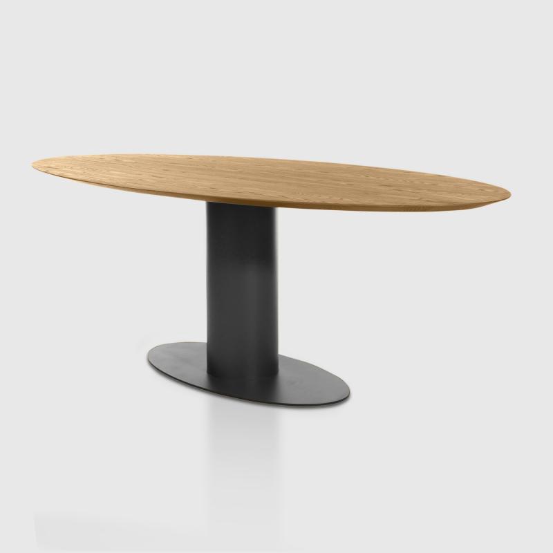 Bert Plantagie Oval Esstisch, Massivholz   Oval#Tisch#6#Ø220x115#eiche/astig  | REUTER