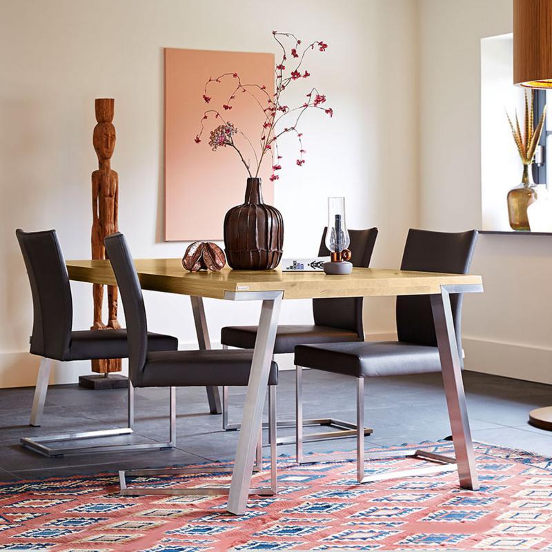 bert plantagie seven tisch seventisch 180x100 eiche astig l reuter. Black Bedroom Furniture Sets. Home Design Ideas