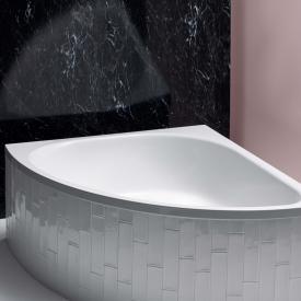 Bette Arco Eck-Badewanne weiß, mit BetteAntirutsch gesamte Bodenfläche, mit BetteGlasur Plus