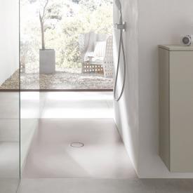 Bette Floor Rechteck-Duschwanne silver, mit BetteGlasur Plus