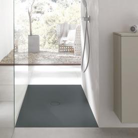 Bette Floor Rechteck-Duschwanne graphit