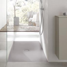 Bette Floor Rechteck-Duschwanne quarz, mit BetteAntirutsch Pro