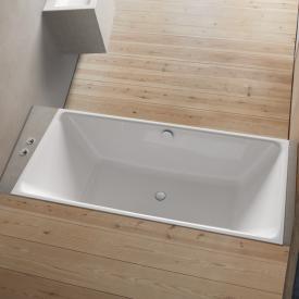 Bette Loft Rechteck-Badewanne weiß, mit BetteAntirutsch, mit BetteGlasur Plus, für Griffmontage