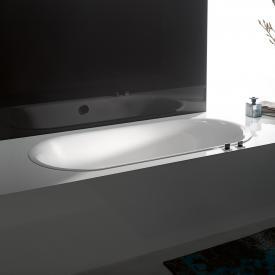 Bette Lux Oval Badewanne weiß, mit BetteAntirutsch