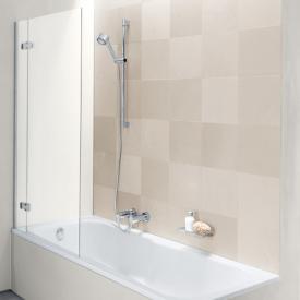 Bette Ocean II Duschabtrennung ESG klar mit BetteEchtglas Plus / weiß