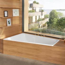 Bette Space Eck-Badewanne, Einbau links weiß, mit BetteGlasur Plus