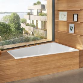 Bette Space Eck-Badewanne, Einbau rechts weiß, mit BetteGlasur Plus