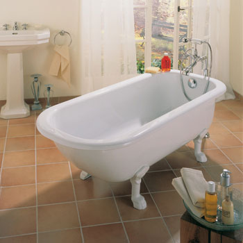 Bette Roma Freistehende Badewanne weiß