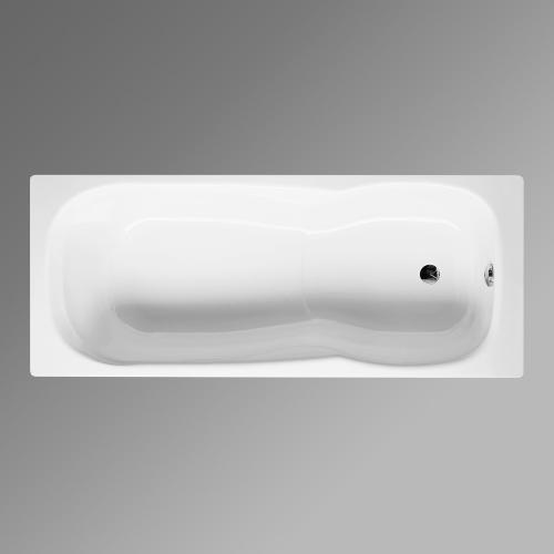 Bette Setline Rechteck-Badewanne weiß
