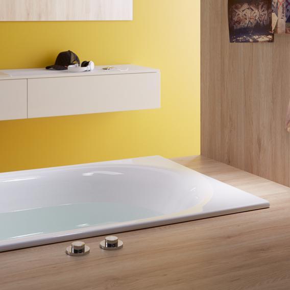 Bette Comodo Rechteck-Badewanne weiß, mit BetteGlasur Plus