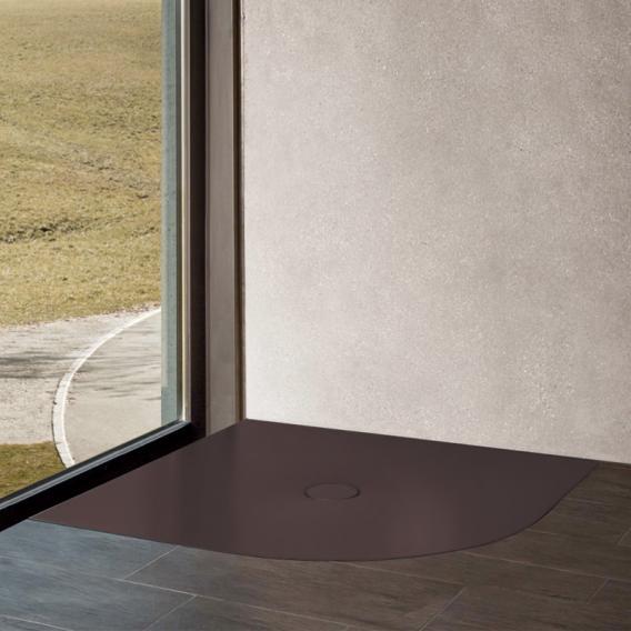 Bette Floor Corner Viertelkreis-Duschwanne anthrazit
