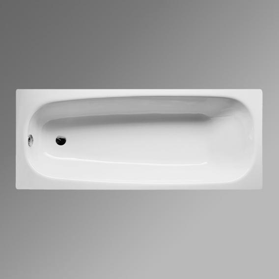 Bette Form Rechteck-Badewanne weiß, mit BetteGlasur Plus