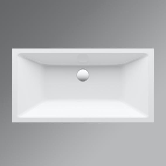 Bette Loft Unterbauwaschtisch weiß, mit BetteGlasur Plus, ohne Überlauf