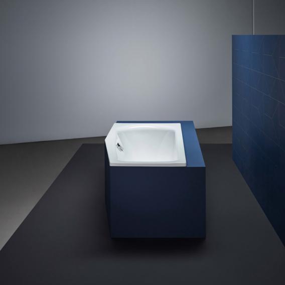 Bette Luna Raumspar-Badewanne weiß, mit BetteGlasur Plus, für Griffmontage