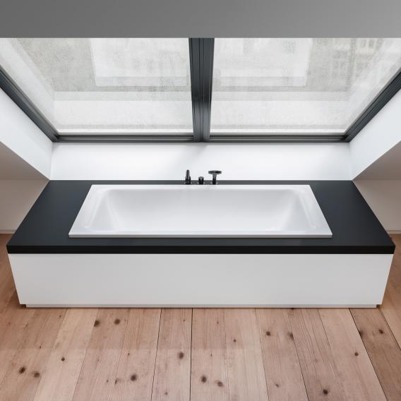 Bette Select Duo Rechteck-Badewanne weiß, mit BetteGlasur Plus
