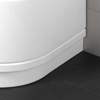 Bette Abnehmbarer Untertritt Form Comfort Eckeinbau weiß