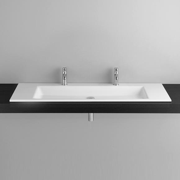 Bette Aqua Doppel-Einbauwaschtisch weiß