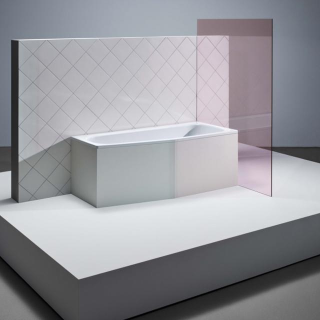 Bette Bambino Raumspar-Badewanne, Einbau weiß, mit BetteGlasur Plus, für Griffmontage
