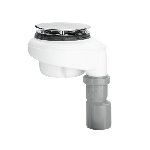Bette BetteDown Ablaufgarnitur, senkrechte Entwässerung, 0,6 l/s Komplett-Set chrom
