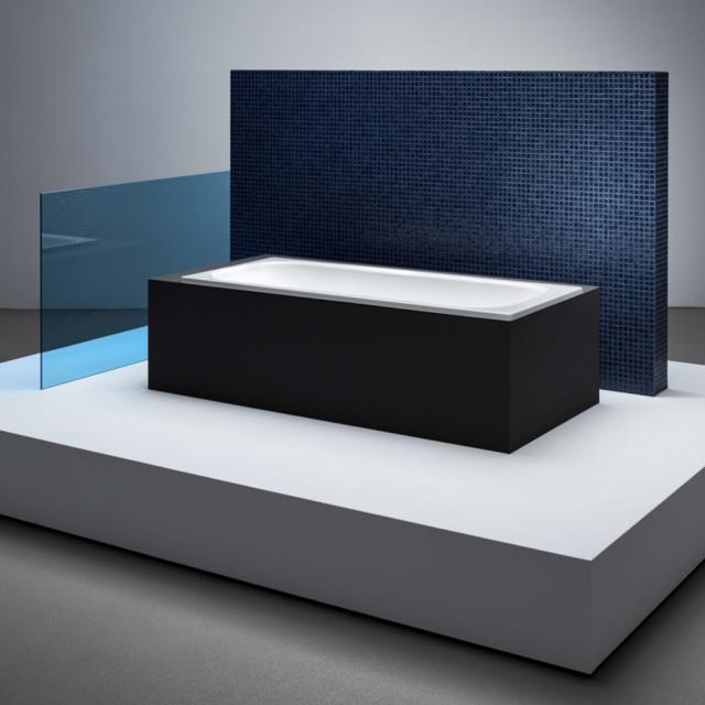 Bette Classic Rechteck-Badewanne, Einbau weiß, mit BetteGlasur Plus