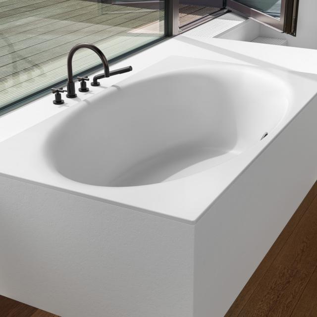 Bette Eve Rechteck-Badewanne, Einbau weiß matt