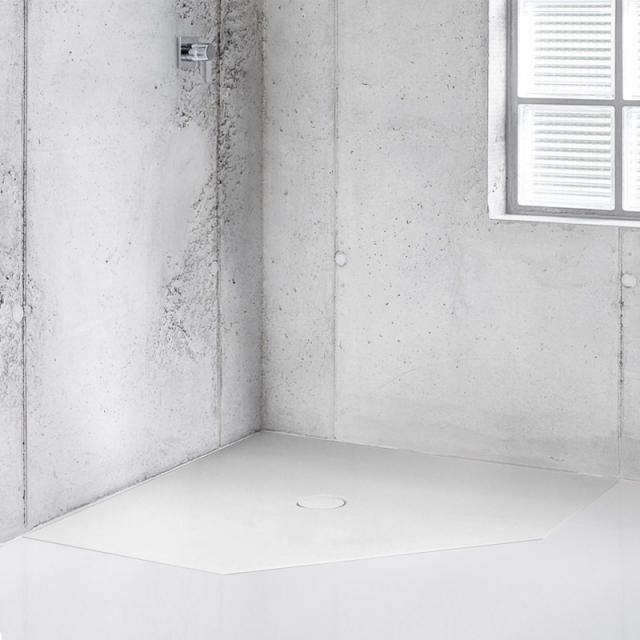 Bette Floor Caro Fünfeck-Duschwanne weiß