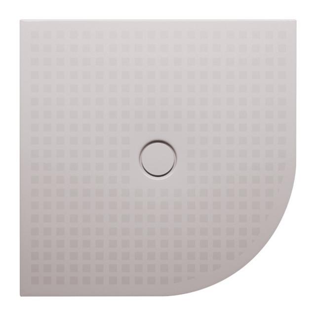 Bette Floor Corner Viertelkreis-Duschwanne dust, BetteGlasur Plus mit BetteAntirutsch