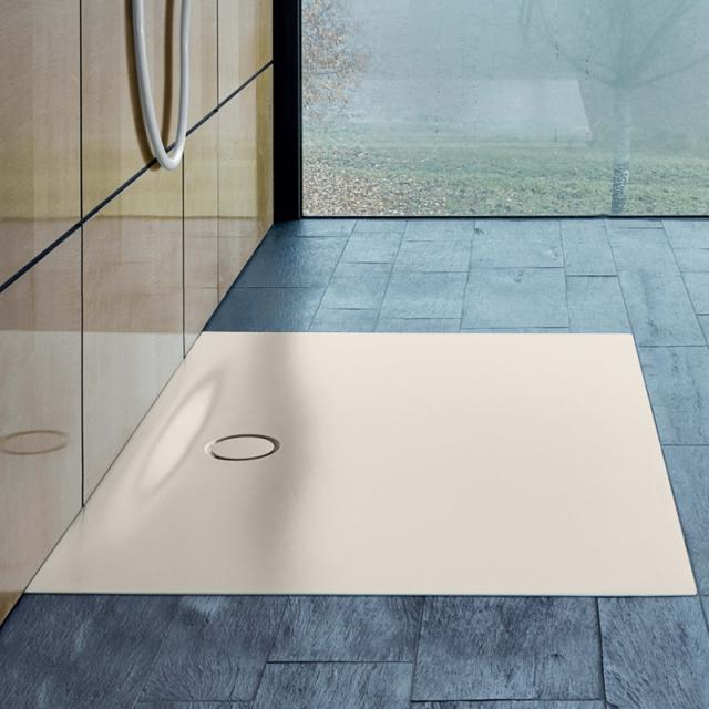Bette Floor Side Rechteck-Duschwanne pergamon BetteGlasur