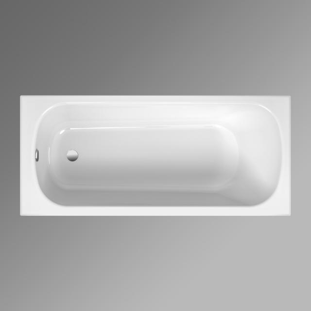 Bette Form Rechteck-Badewanne, Einbau weiß