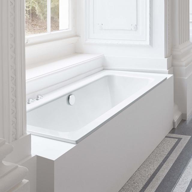 Bette One Rechteck-Badewanne, Einbau weiß