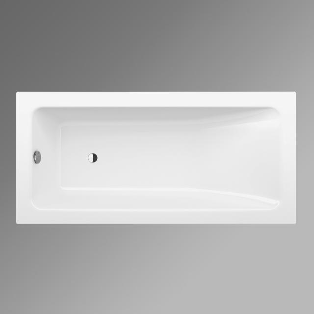 Bette One Relax Rechteck-Badewanne, Einbau weiß, mit BetteGlasur Plus