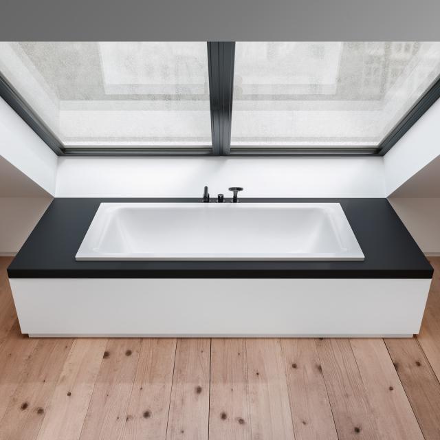 Bette Select Duo Rechteck-Badewanne, Einbau weiß