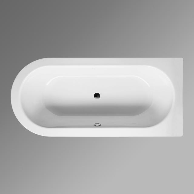Bette Starlet II Sonderform-Badewanne, Einbau weiß