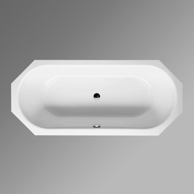Bette Starlet Octa Achteck-Badewanne, Einbau weiß, mit BetteGlasur Plus, für Griffmontage