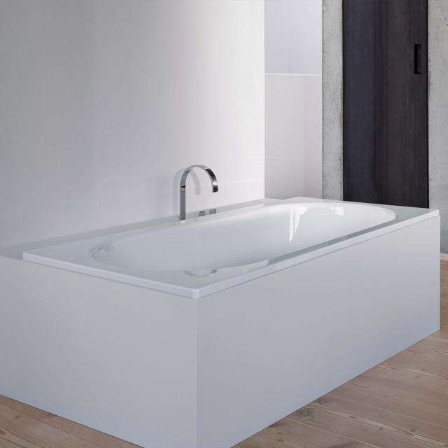 Bette Starlet Rechteck-Badewanne, Einbau weiß, für Griffmontage