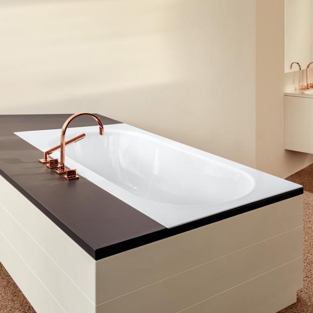 Bette Starlet Spirit Rechteck-Badewanne weiß, für Griffmontage