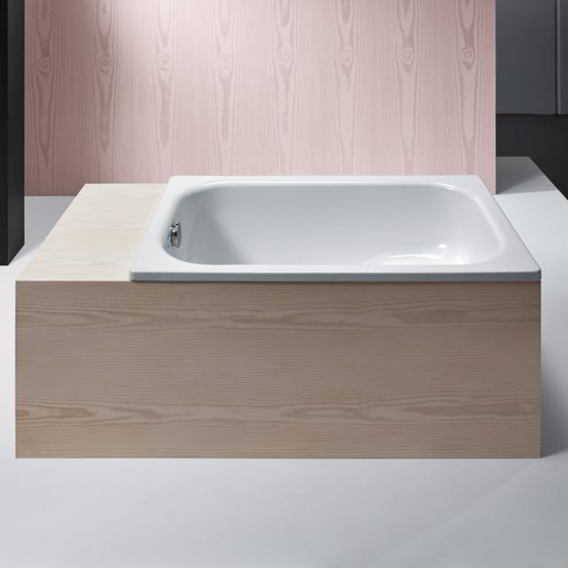 Bette Stufenwanne Rechteck-Badewanne, Einbau weiß
