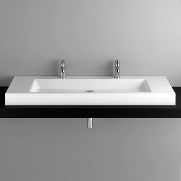 Bette Aqua Aufsatz Waschtisch weiß BetteGlasur - A040-000HLW2,PW ... | {Waschtischplatte beton 95}