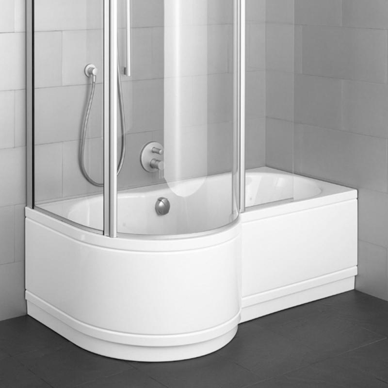 badewanne mit duschzone eckig. Black Bedroom Furniture Sets. Home Design Ideas