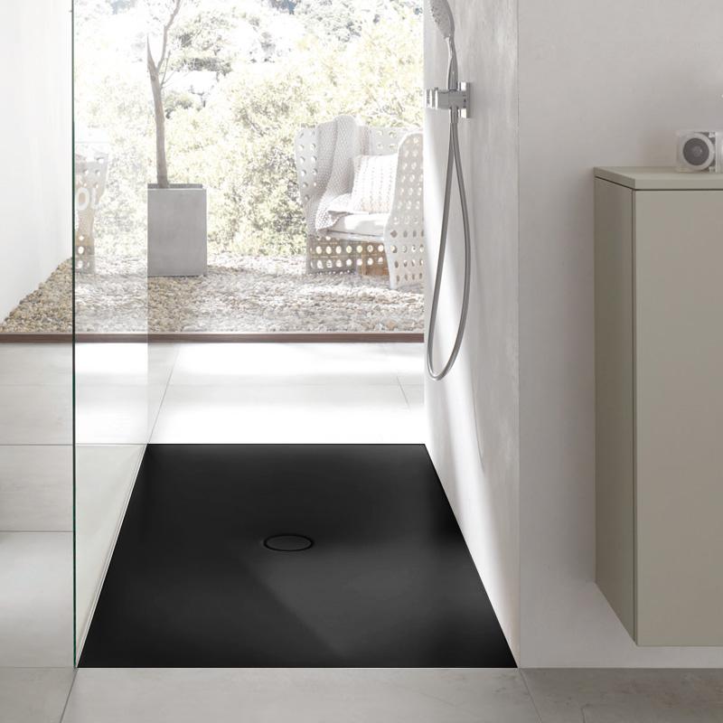 bette floor rechteck duschwanne raven mit betteglasur. Black Bedroom Furniture Sets. Home Design Ideas