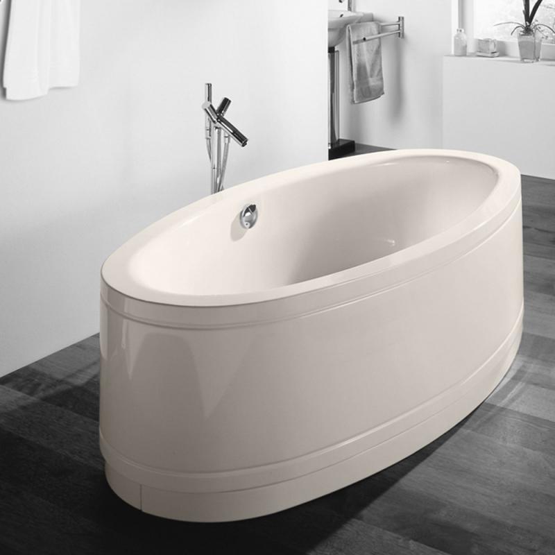 Freistehende badewanne oval  Bette BetteHome Comfort Oval Freistehende Badewanne pergamon ...