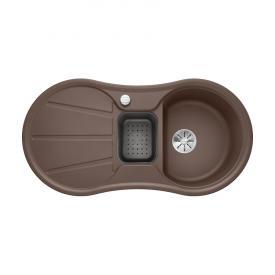 Blanco Cron 6 S drehbare Spüle kaffee