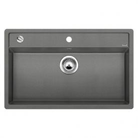 Blanco Dalago 8 Spüle Becken SILGRANIT®PuraDur® II aluminium metallic