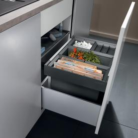 Blanco Flexon II Abfallsystem, mit 1 x Eimerdeckel, für 60 cm Unterschrank